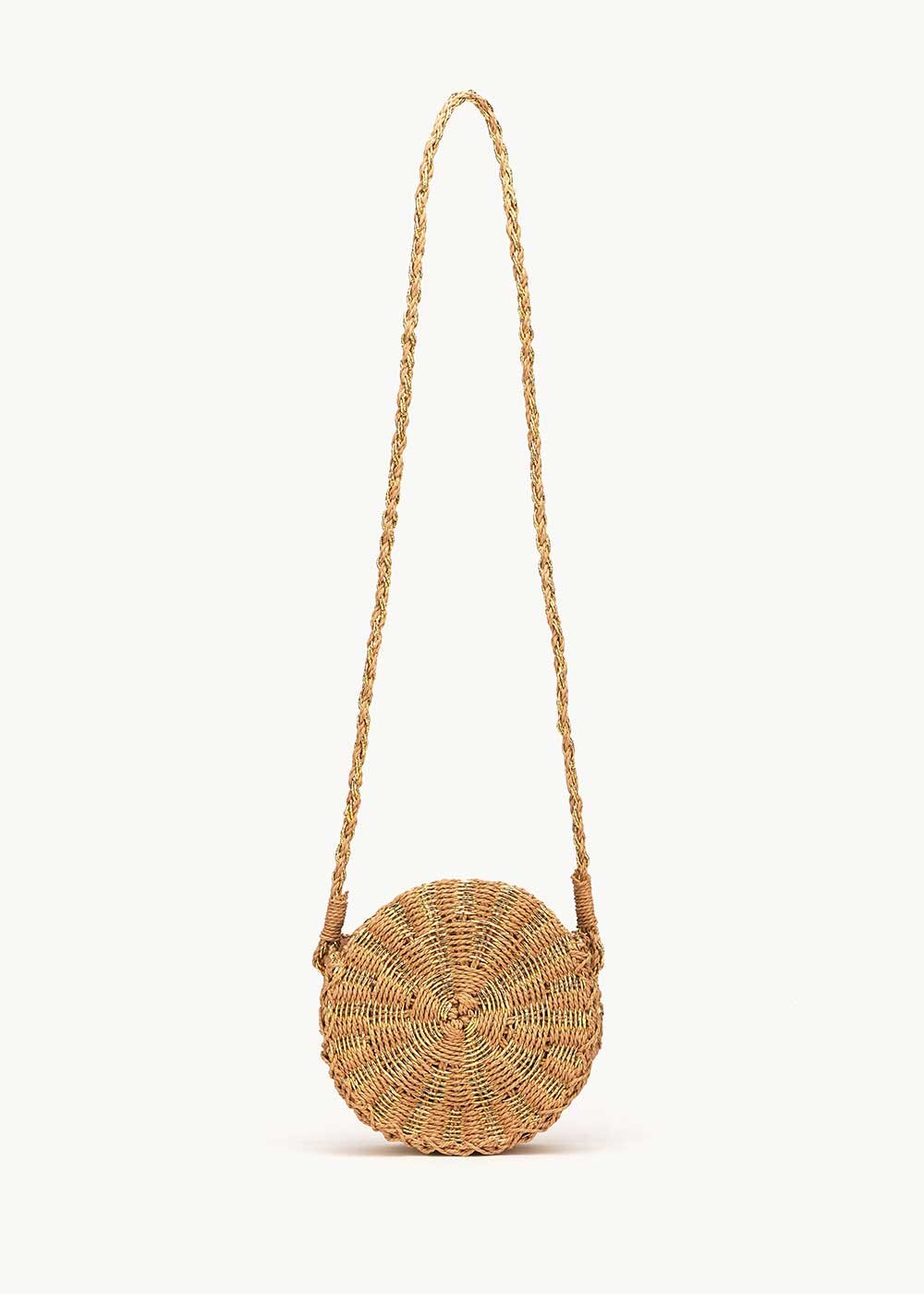 Baggy round straw bag - Safari - Woman