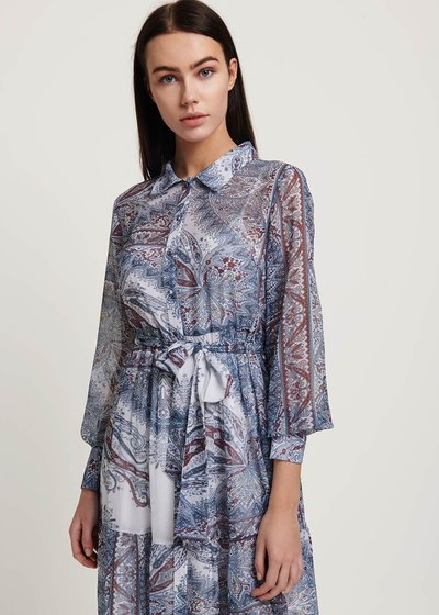 Adriano patterned dress
