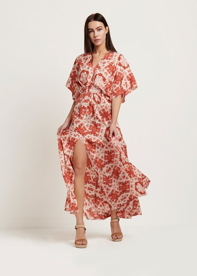 Astrid patterned dress