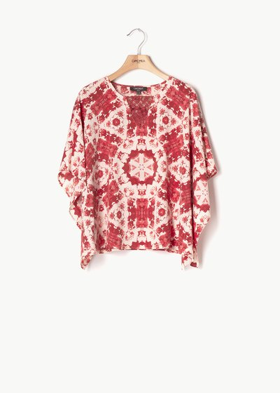 Clara patterned blouse