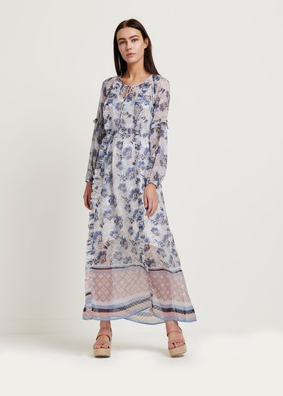 Alessio dress with floral pattern