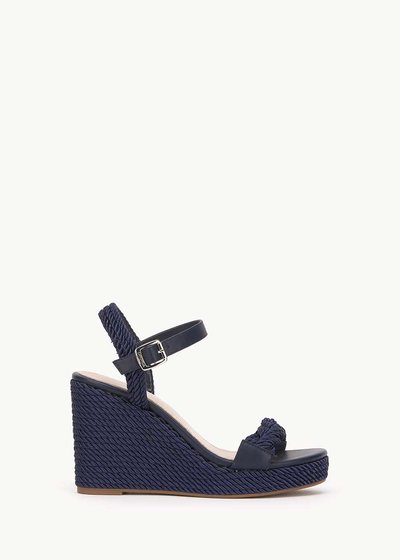 Susannah sandal with rope detail