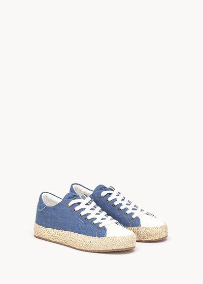 Shelly canvas shoe