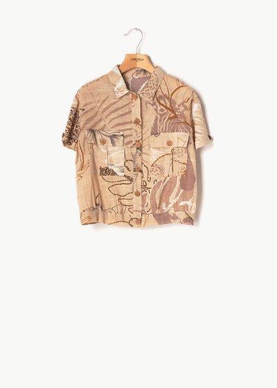Camicia Charlotte fantasia safari