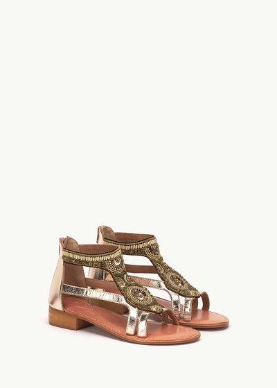 Samyr sandal with tinsel detail