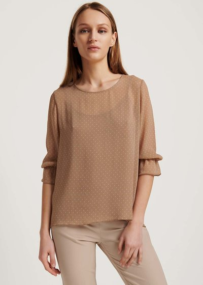 Sonia polka-dot T-shirt