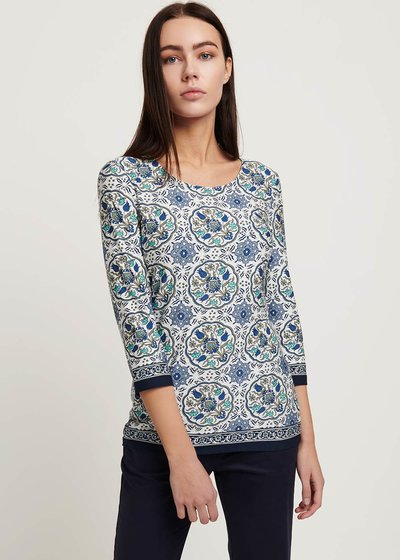 Sheena patterned T-shirt