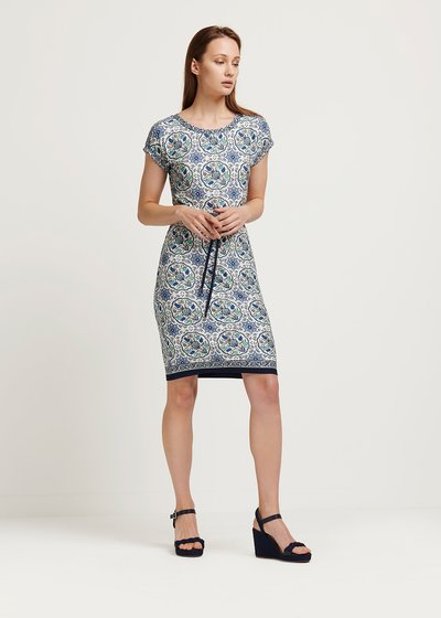 Adil patterned dress