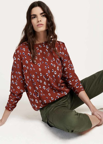 Chiara T-shirt with spotted print