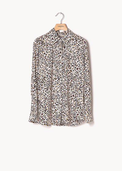 Alessia shirt with spotted print