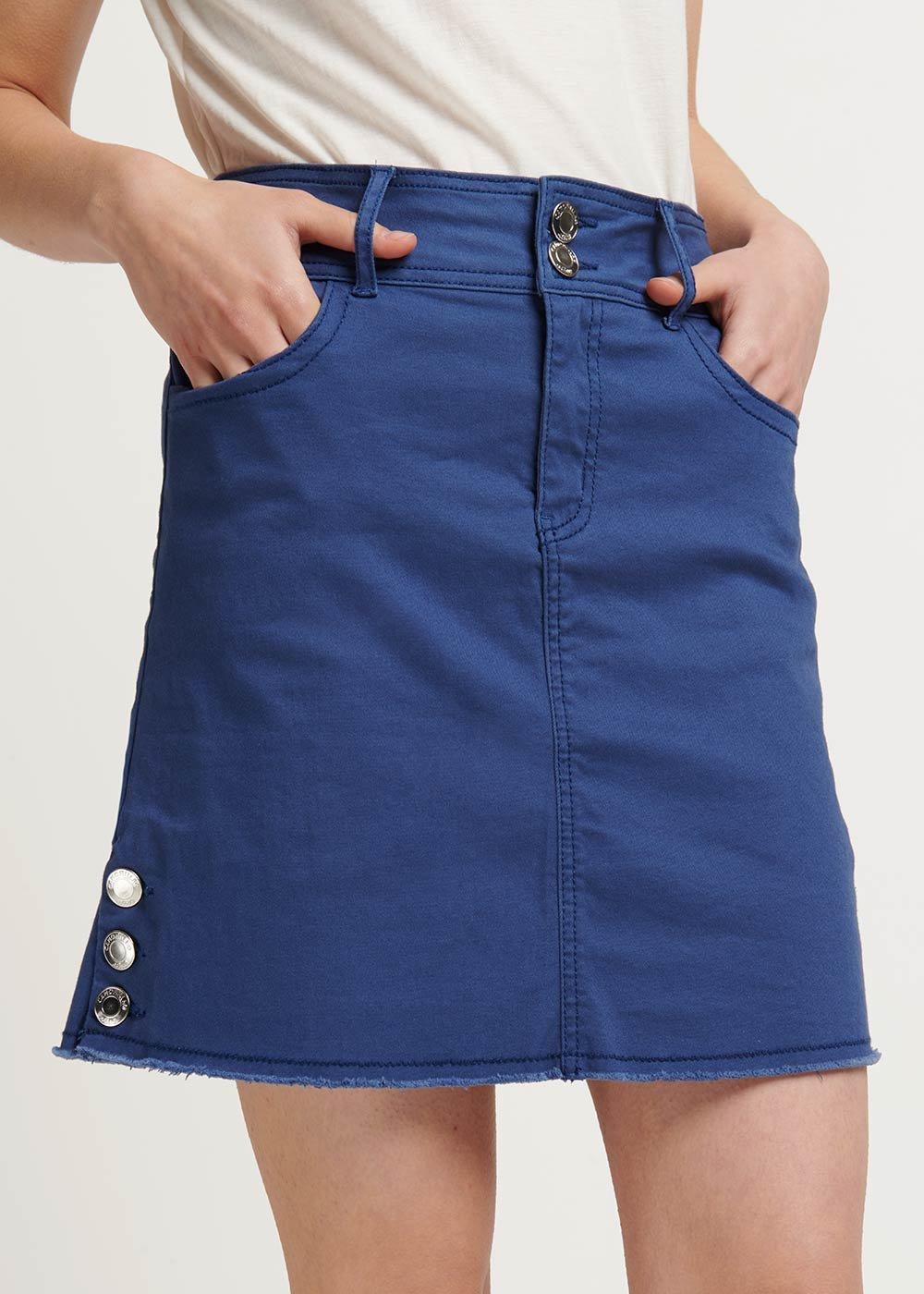 Gabriella air-force blue skirt - Blue - Woman