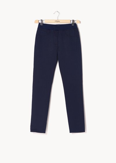 Kelly trousers with coordinated elastic band