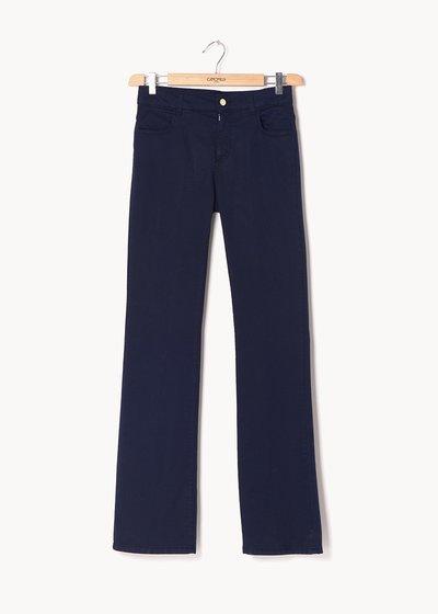 Pantaloni modello Cindy gamba larga