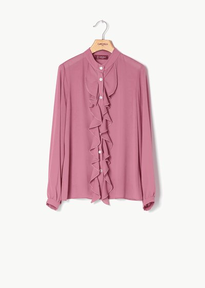 Caterina shirt with frills