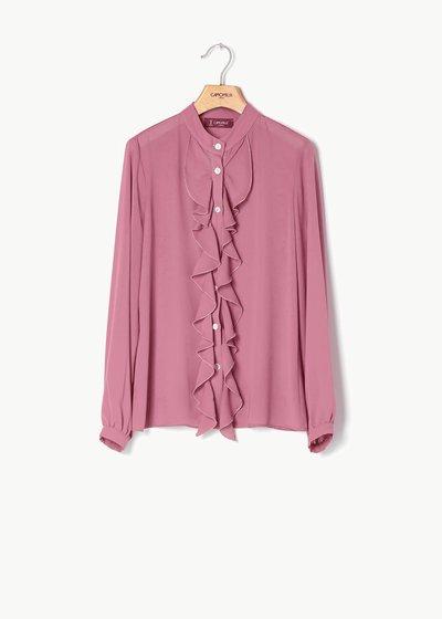 Camicia Caterina con rouches