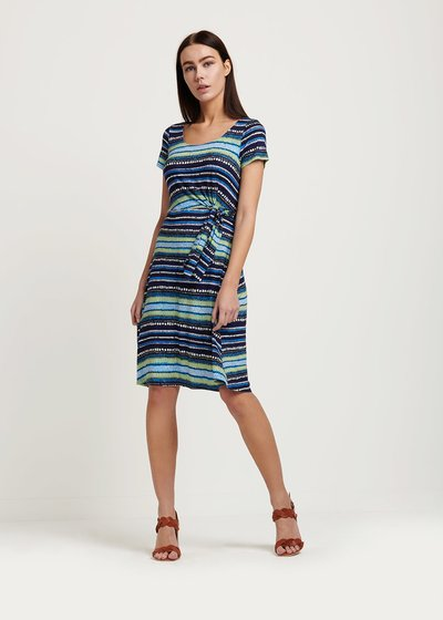 Arios striped dress