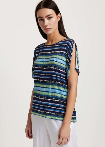 Sari striped T-shirt