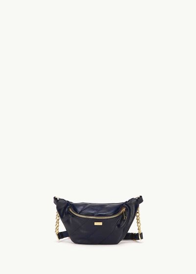 Blesh medium blue bum bag