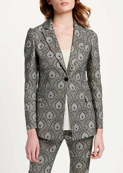 Giasmine damask jacket