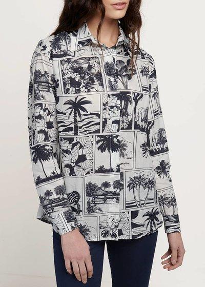 Camicia modello Alessia stampa fumetto