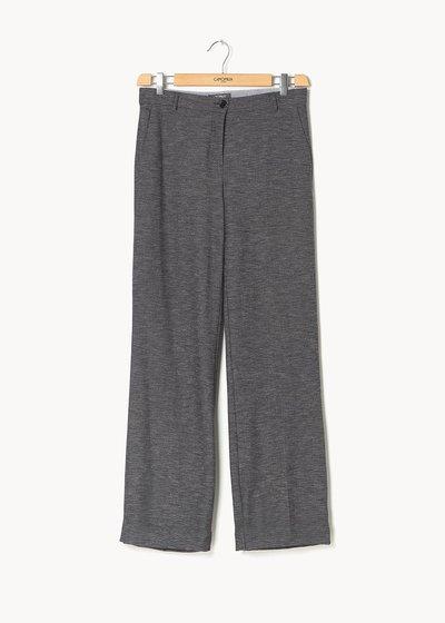 Pantalone modello Giorgia effetto stuoietta