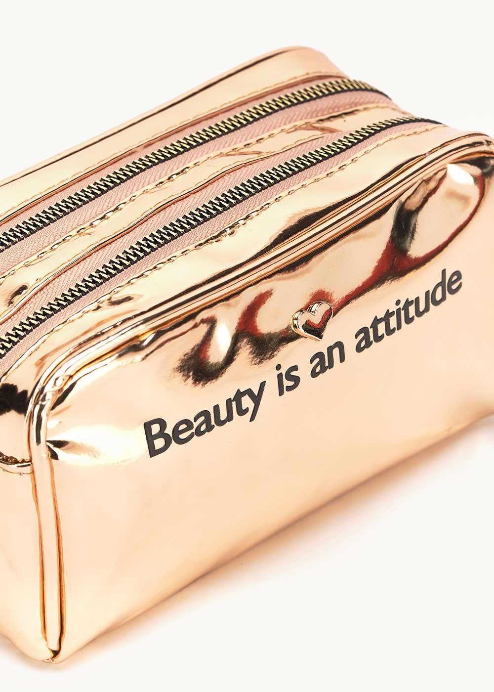 Beauty Bart con scritta - Rose Gold - Donna