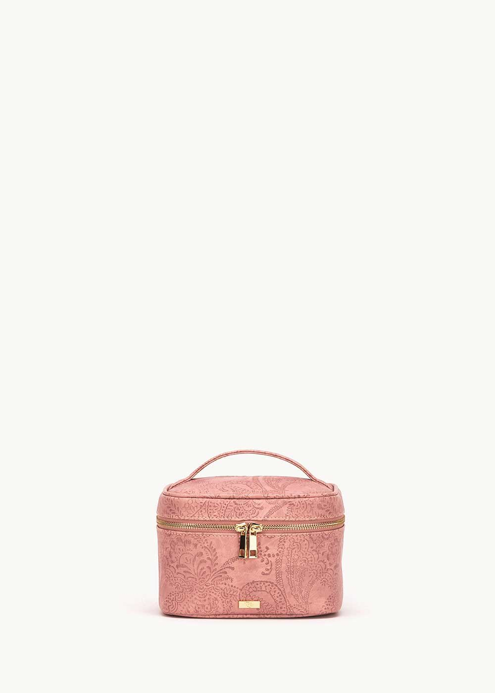 Babie vanity case with cashmere effect - Skin - Woman