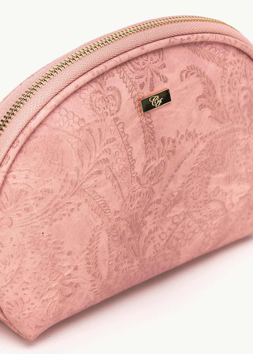Bahia purse with cashmere effect - Skin - Woman