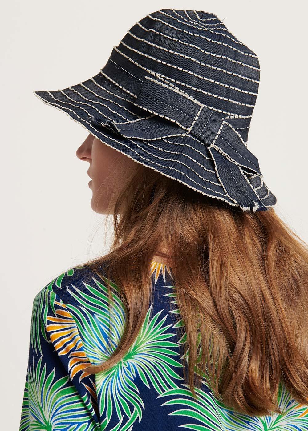 Cagyl navy style hat - Marina - Woman