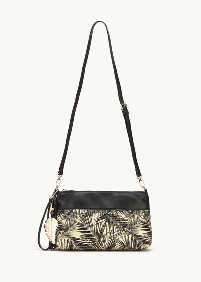Bely shoulder bag with palm print