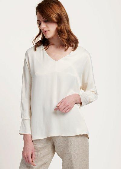 T-shirt Sharan in viscosa