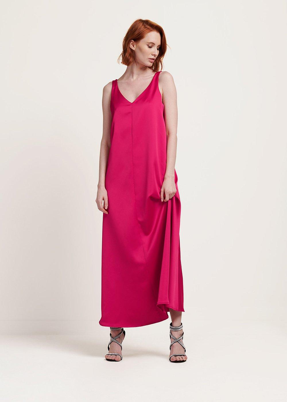 Anabel sleeveless gloss dress - Gloss - Woman