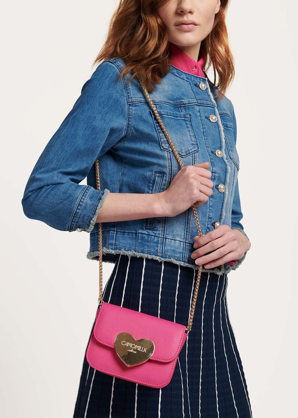 Bonny clutch bag with shoulder strap - Gloss - Woman