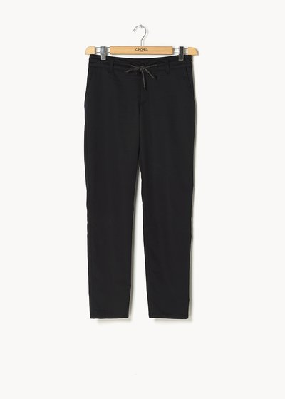 Alice trousers with drawstring around the waist