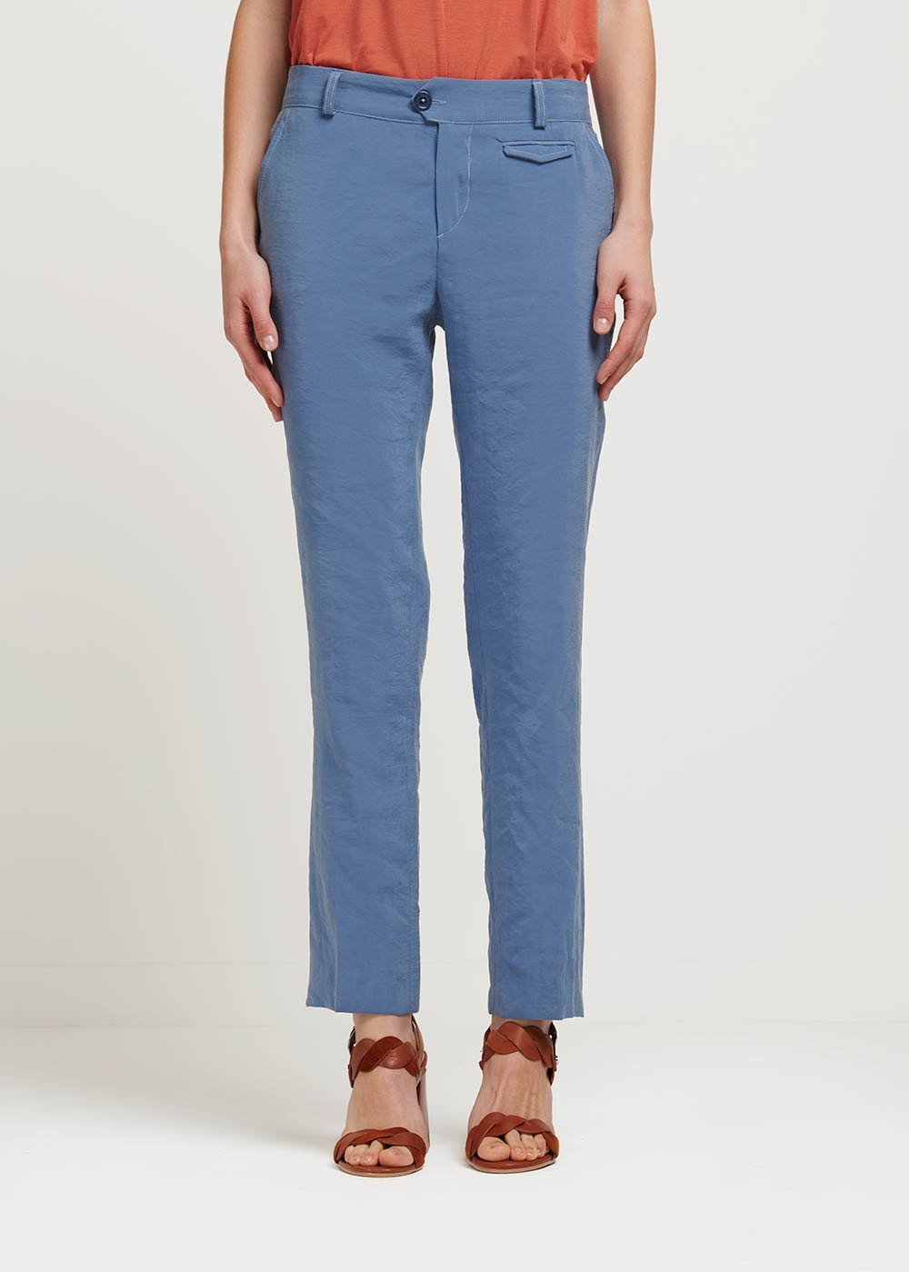 Alice air force blue trousers - Blue - Woman