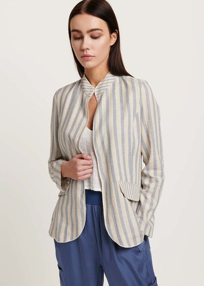 Caroline shirt with dew stripes