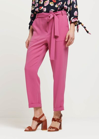 Penny trousers with belt