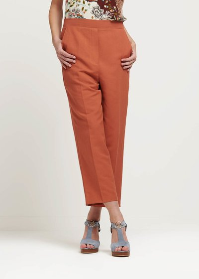 Megan cinnamon trousers