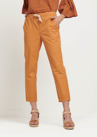 Cara trousers with waist string