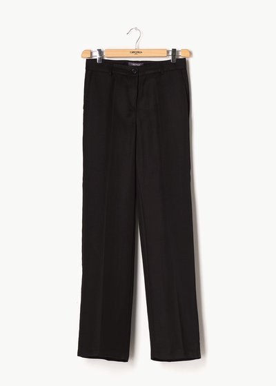 Giorgia trousers in linen blend fabric