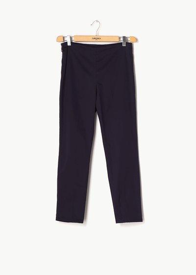 Claudia capri pants with side zipper