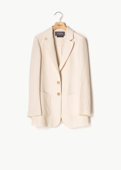 Giuly suit jacket with matting effect