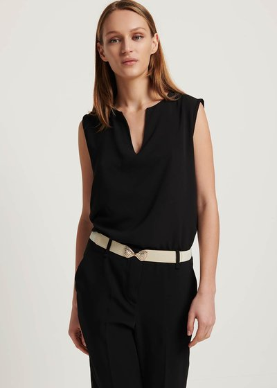 Theodor sleeveless basic top