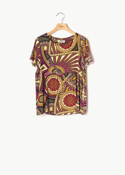 Soemy patterned T-shirt