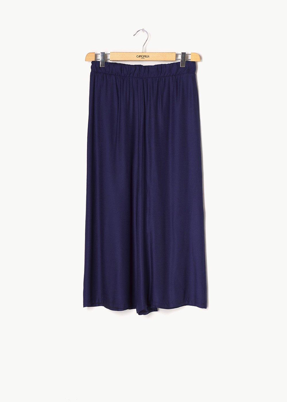 Megan viscose capri pants - Marina - Woman