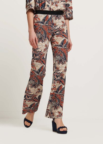 Pedros trousers with Ethiopian print