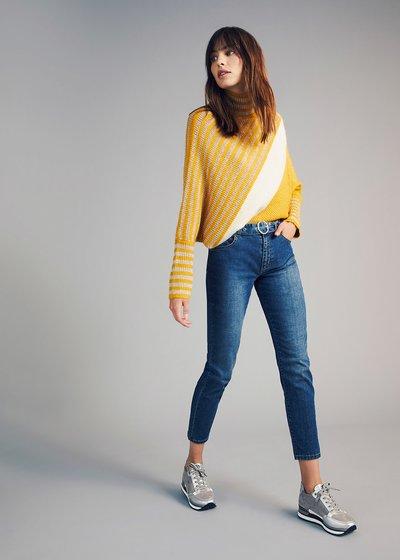 Kate jeans with denim belt