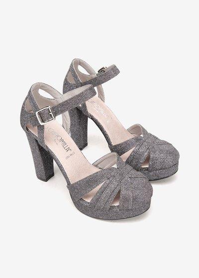 Skype sandal with glitter