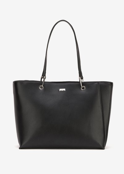 Blunt rigid shopping bag