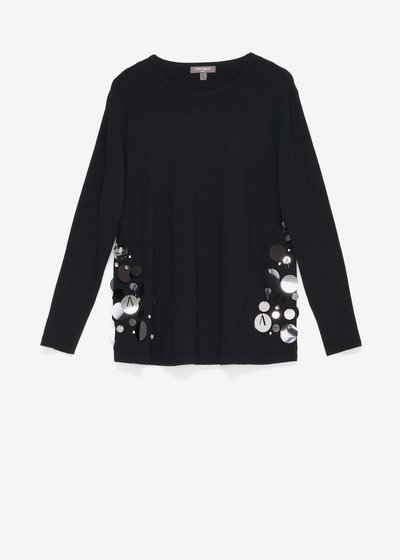 Mara sweater with sequins